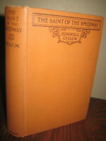 1st Edition Saint of the Speedway Ridgwell Cullum Novel First Printing Fiction