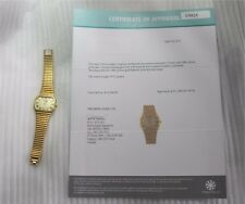 Longines 18K Solid Yellow Gold Mechanical Men's Watch 1970's Appraised $12000.00