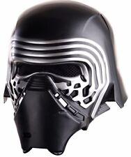 Kylo Ren Mask 2-Piece Helmet Adult Star Wars Ben Mens Authentic Licensed