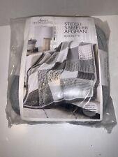 New Annie's Crochet Club Stitch Sampler Afghan Yarn Blocks 7-9 Cab03 2 Pack