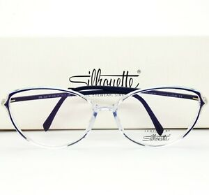 Silhouette Eyeglasses Frame 3508 00 6105 54-14-130 without case  VTG