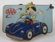Aaa Travel Disney Pinocchio Enameled Pin 2003 - ~ 1-1/2 x 1 inches