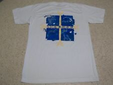 HARD ROCK CAFE STOCKHOLM SWEDEN FLAG ABSTRACT ATTRACTIONS T-SHIRT-SM-RARE HEAVY