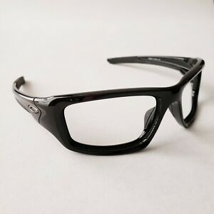 Oakley Valve Polished Black Gunmetal Icons Replacement Frame Only Authentic New