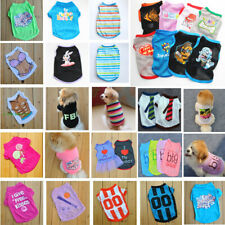 NEW Puppy Various Clothes Dog Polo Judge shirt BIKINI Summer Shirt Clothing