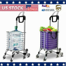 35L Larger Storage Shopping Cart Trolley Oxford Cloth Bag Aluminum + Stainless