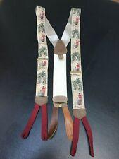 Trafalgar 100% Silk Suspenders 1920's St Andrews Golf Ltd Edition