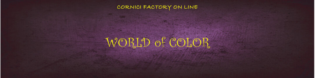 CORNICI FACTORY ONLINE 2014