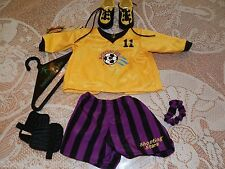 AMERICAN GIRL SOCCER GEAR OUTFIT 1996 8PC JERSEY SHORTS TAG PLEASANT CO RETIRED