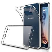 Dünn Slim Cover Samsung Galaxy S6 Handy Hülle Silikon Case Schutz Tasche