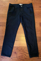 Banana Republic Women's Size 8 Black Sloan Pant Career Crop Ankle Pants