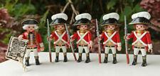 Playmobil Rotröcke Englische Garde Soldaten Marine Engländer (1)