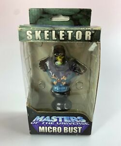 Skeletor MOTU 200X Masters Of The Universe Micro Bust New NIB 2004 NECA He-Man