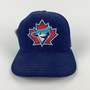 Vintage 90s Toronto Blue Jays Maple Leaf New Era Diamond Collection Cap 6 5/8