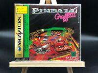 New!!  Pinball Graffiti (Sega Saturn, 1996) from japan #3141