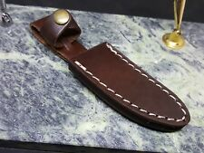 "Leather Fixed Blade Knife Belt Sheath for up to 3 1/4"" Blades"