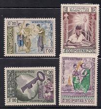Laos  1959  Sc #56-59  MNH  (1-312)