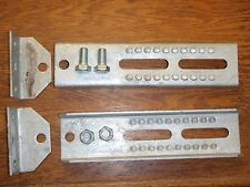 "BOAT TRAILER BOLSTER BRACKETS BUNK 10"" 241 81215 SWIVEL PAIR BOATINGMALL PARTS"