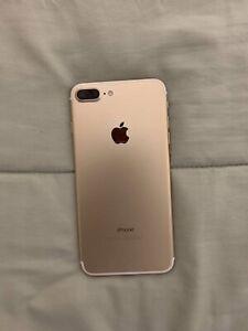 Apple iPhone 7 Plus - 128GB - Gold (Unlocked) A1661 (CDMA + GSM)