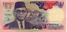 1992 10000 Rupiah Indonesia Banknote EF - Pick 131