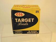 CIL TARGET LOADS 20GA EMPTY BOX SHOT SHELL BOX, DECOY
