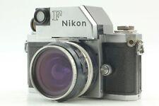 *EXC+5* NIKON F PHOTOMIC FLAG FINDER SLR FILM CAMERA w/ BONUS LENS FROM JAPAN