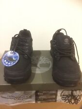 Timberland Waterproof Black Leather Trainers Size 8,5