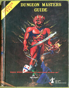 Advanced Dungeons and Dragons Dungeon Masters Guide 1979 TSR