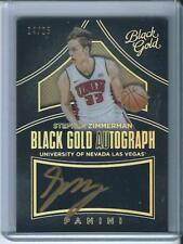 2016-17 BLACK GOLD HOLO GOLD /25 AUTO STEPHEN ZIMMERMAN