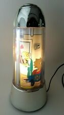 The Simpsons Lampe animée rotative Motion Lamp Rotating Light Up rare ELUZ 2002