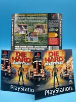 jeu video notice BE sony playstation 1 notice + jaquette die hard trilogy 2