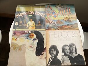 The Doors Morrison hotel,other voices,weird scenes,full circle vinyl records