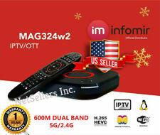 Original Infomir MAG324W2 Mag 324W2 324 IPTV Set top box Builtin WIFI