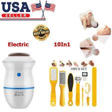 Electric Pedicure Rasp Foot File Callus Remover Scraper Nail Care Tool Kits Usa
