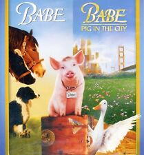 Babe 2-Movie Family Fun Pack, new DVD, G comedy 1&2 1 2 Pig City farm animals