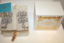 NEU ANNA DELLO RUSSO at H&M Diamant Familie Ohrringe, Etikett, OVP earring AdR