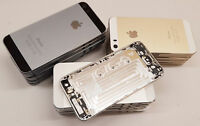 iPhone 5S EMPTY CHASSIS REAR COVER HOUSING WITHOUT PARTS GOLD SILVER SPACE GREY