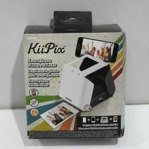 Tomy KiiPix Smartphone Instant Picture Photo Printer Foldable Portable