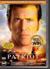 THE PATRIOT - DVD R4 (2004) Mel Gibson  Heath Ledger - LIKE NEW - FREE POST