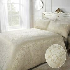 Sleepdown Marble Glitter Jacquard Bedding -Luxury Duvet Cover and Pillowcase Set