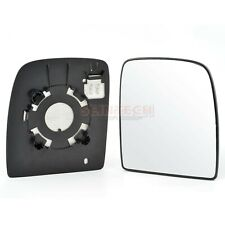Left side Flat Wing door mirror glass for Peugeot Expert 2007-2012 heated plate