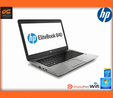 "HP EliteBook 840 G1 14"" Laptop Intel i5 1.9GHz, 8GB RAM 500GB HDD Win 7 (REF:1)"