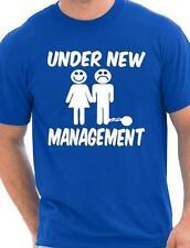 Bajo Nuevo Management Despedida De Soltero Boda Hombre camiseta Tallas Ch-EEG
