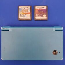 Nintendo DSi Light Blue & 2 Games TESTED No charger No Stylus Spyro
