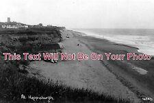 NF 108 - Cliffs & Beach, Happisburgh, Norfolk c1937 - 6x4 Photo