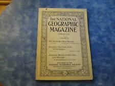 ANTIQUE NATIONAL GEOGRAPHIC February 1919 NORTH SEA MINE BARRAGE Sarawak BERRIES