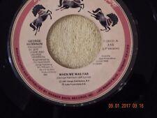 George Harrison: When Was Fab / Zig Zag 45 Rpm / Dark Horse 28131