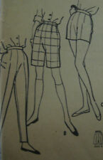 "VTG McCalls Womens BERMUDA SHORTS Sewing Pattern 5263 Waist 28"" Hip 38"""
