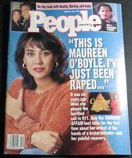 People Magazine March 23, 1992-Maureen O'Boyle,U2