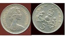ROYAUME UNI   five   5  pence 1971  ( bis )